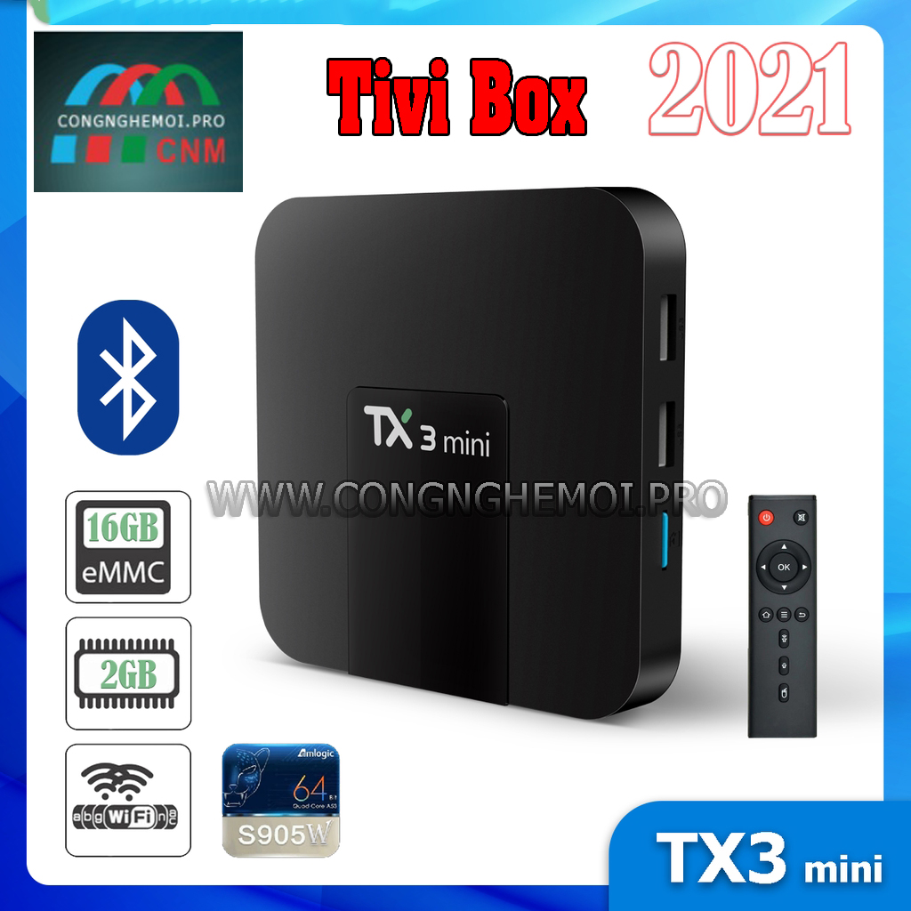 TV Box TX3 mini - AndroidTV 9, Bluetooth