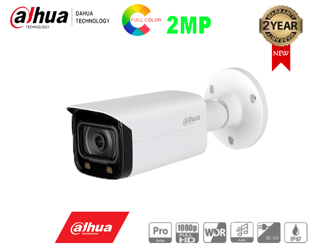 Camera 2MP Full - Color Starlight DH-HAC-HFW2249TP-I8-A-LED