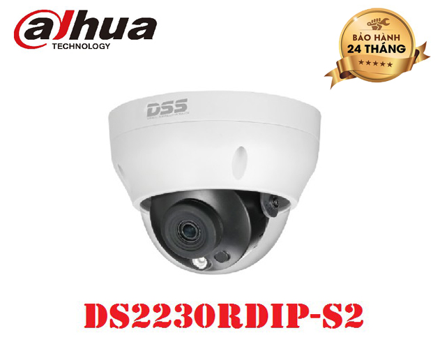 Camera DAHUA 2MP IR Dome Netwok - DS2230RDIP-S2