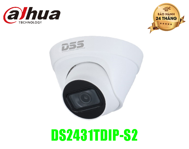 Camera IP DAHUA 4MP - DS2431TDIP-S2